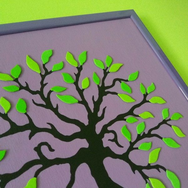 Copacul si primavara